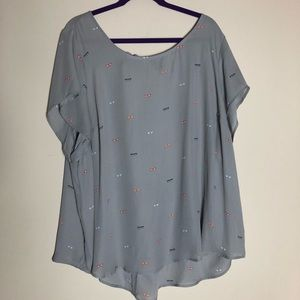 Blouse from Torrid, size 4.
